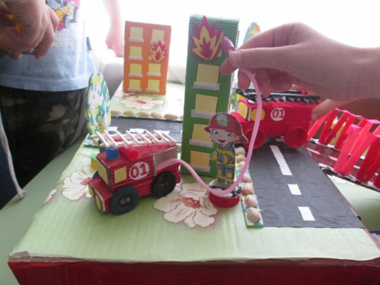 Макет по пожарной безопасности в детском саду своими руками 31