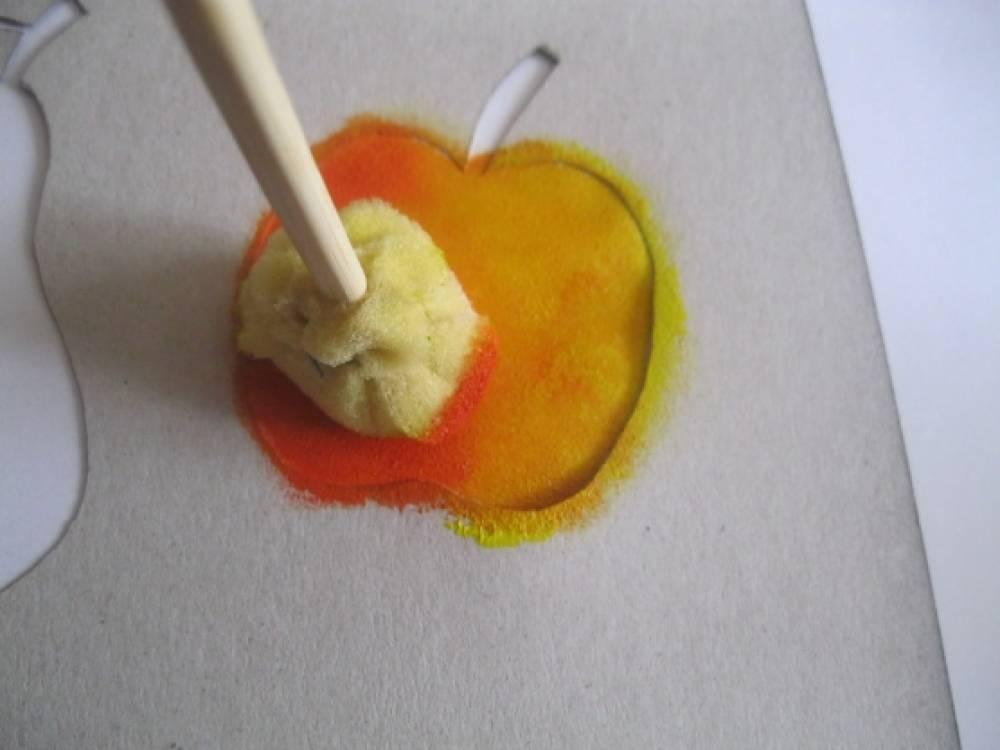 Тычка для рисования своими руками