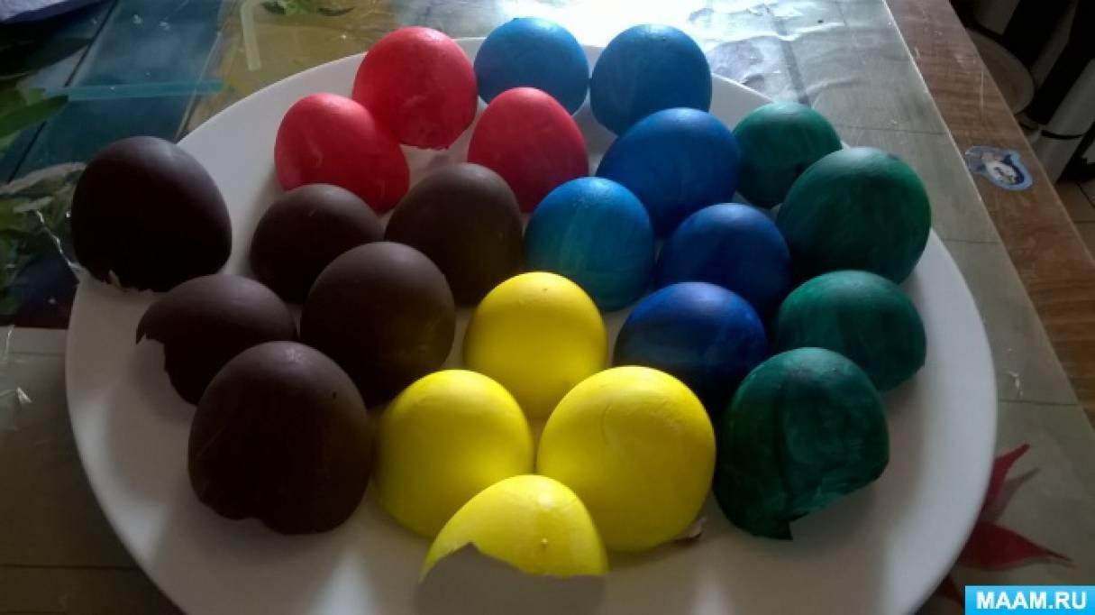 Методическая разработка по нетрадиционной технике изобразительной деятельности «Мозаика из яичных скорлупок»