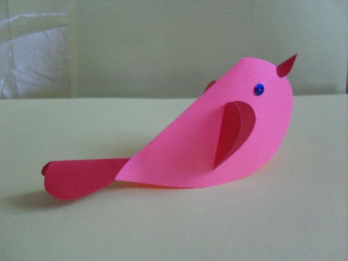 Поделка ко Дню святого Валентина «Птица счастья»