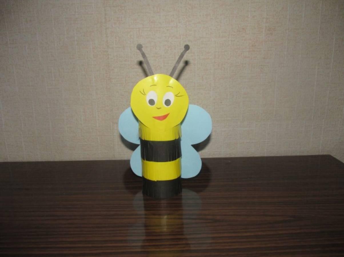 Пчелки из бросового материала своими руками 10