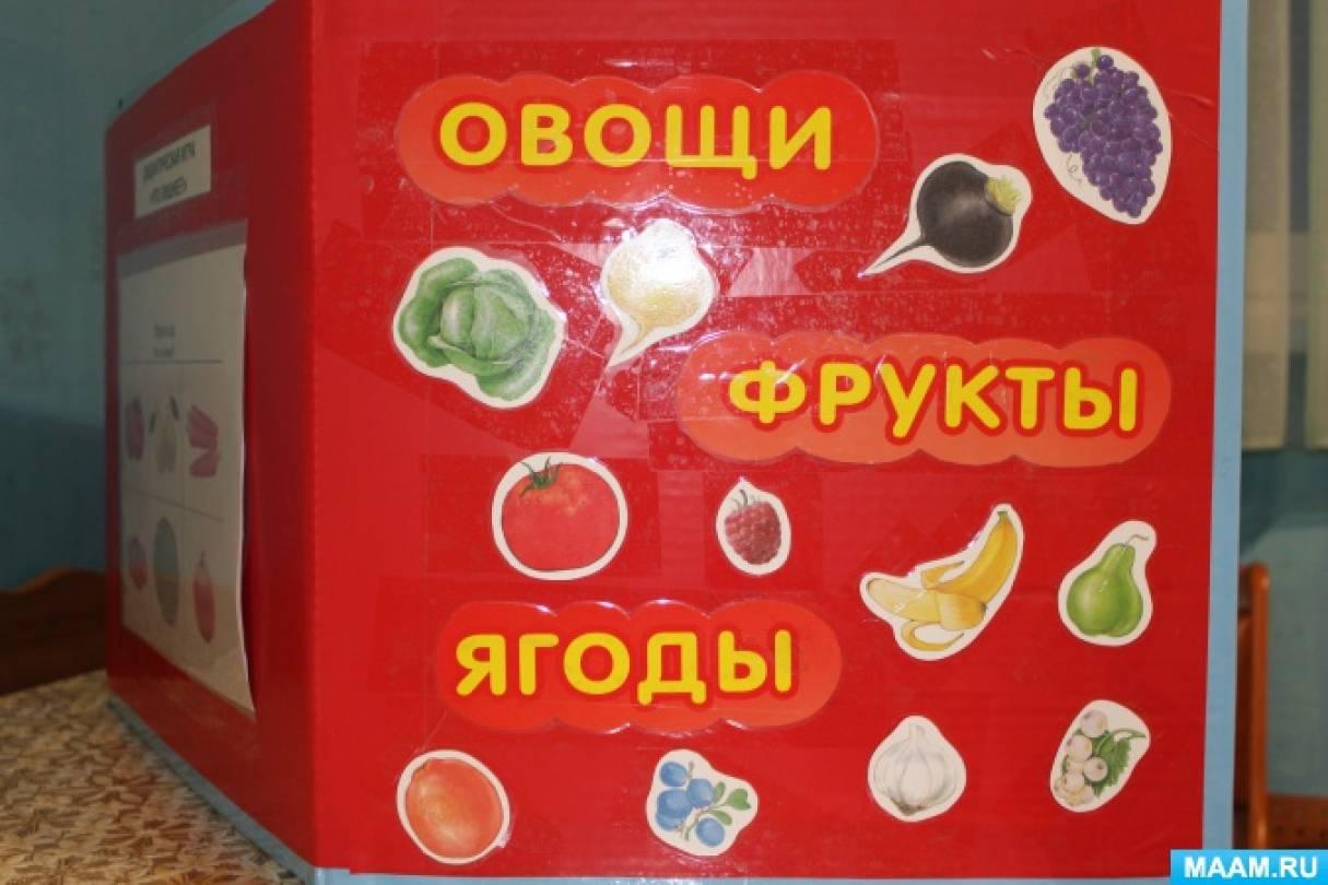 Лэпбук «Овощи, фрукты, ягоды»