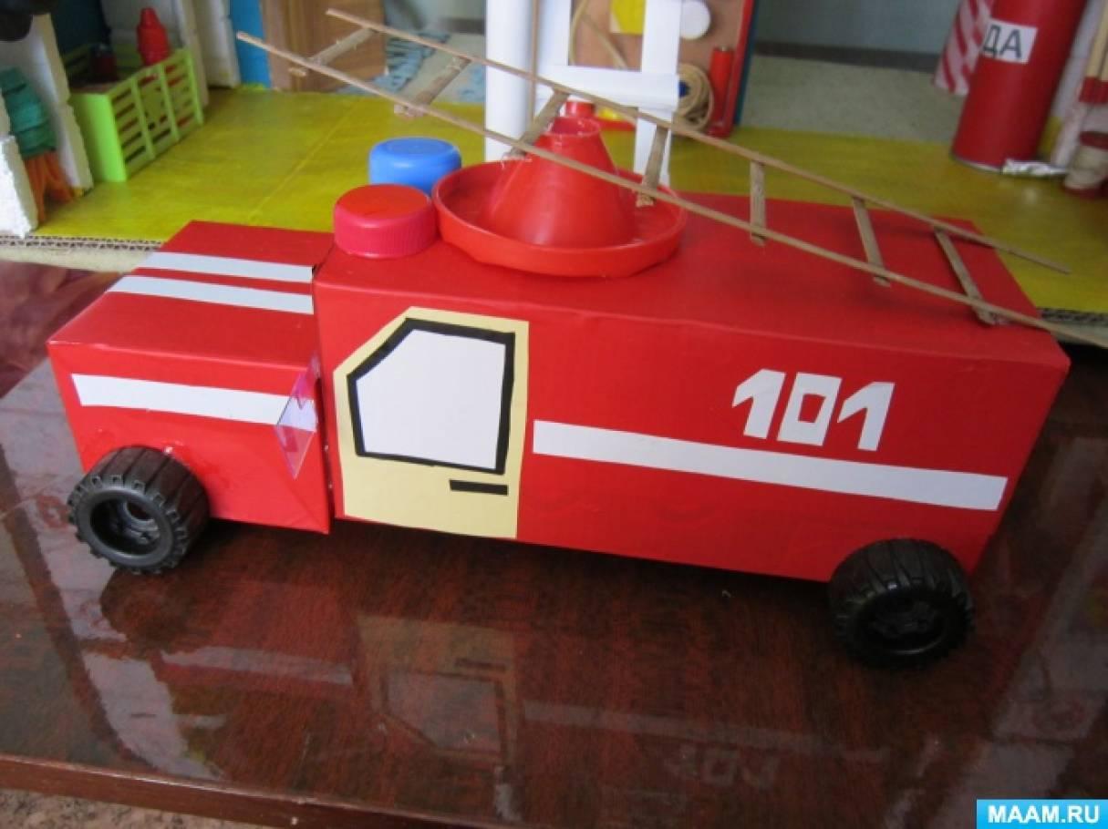 Поделки к дню пожарной охраны 89