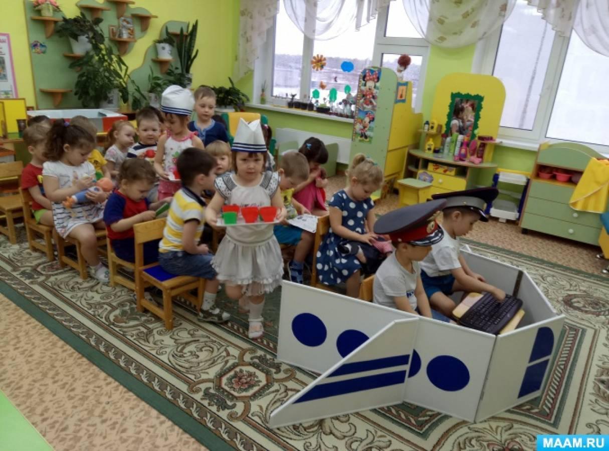Сюжетно ролевая игра самолет в средней группе сюжетно-ролевая игра в детском саду магазин