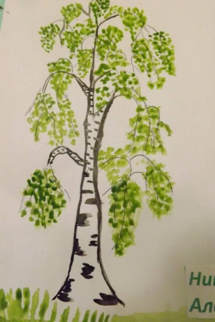 Фотоотчет с классной выставки детских рисунков «Березка ... | 598x399