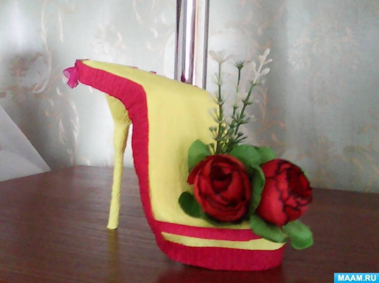 Подарок для выпускников 9 класса «Туфелька»
