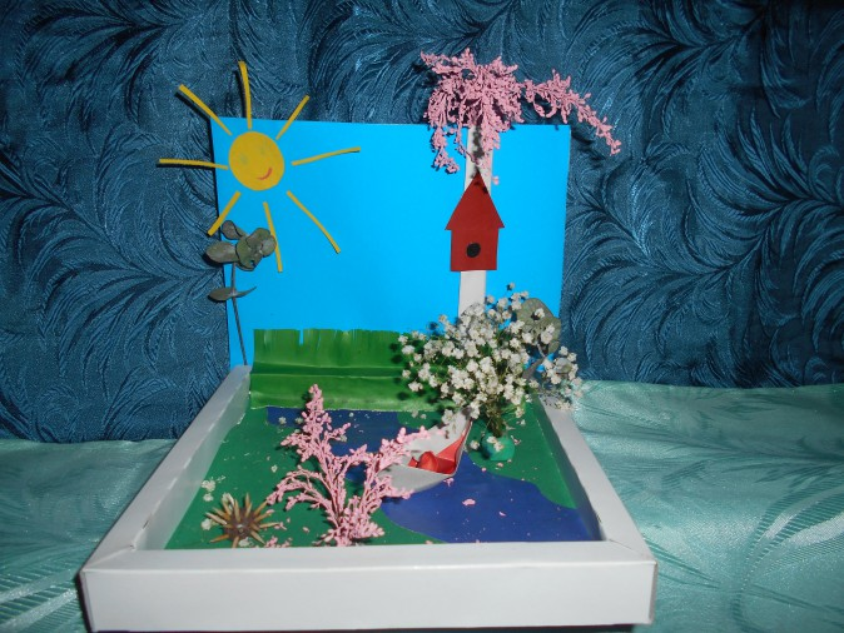 Весенние детские поделки в детском саду 847