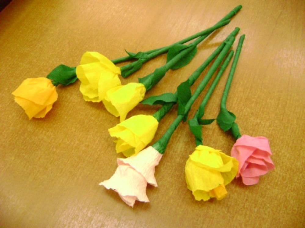Цветы из трубочек бумаги своими руками 73