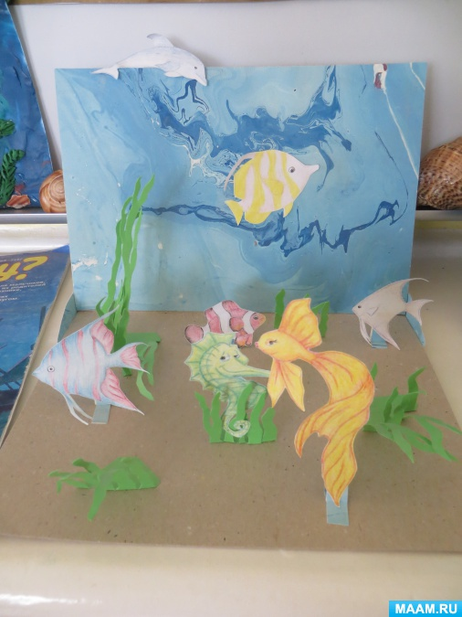 знакомство детей с подводным миром кусто