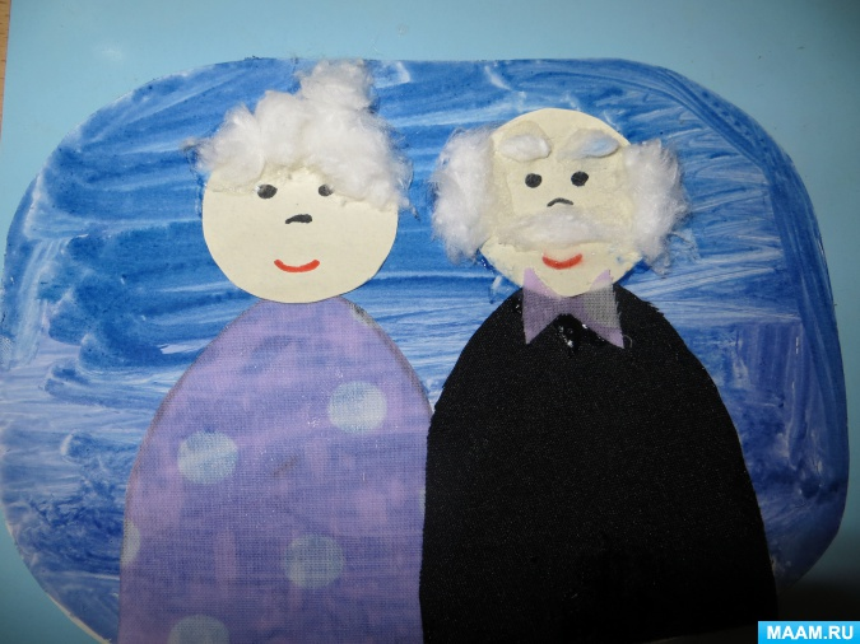 Открытка дедушке с бабушкой своими руками, поздравлением днем