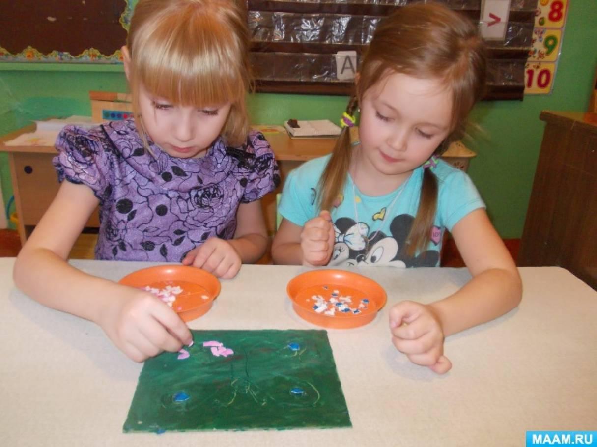 Детский мастер-класс «Мозаика из яичной скорлупы»