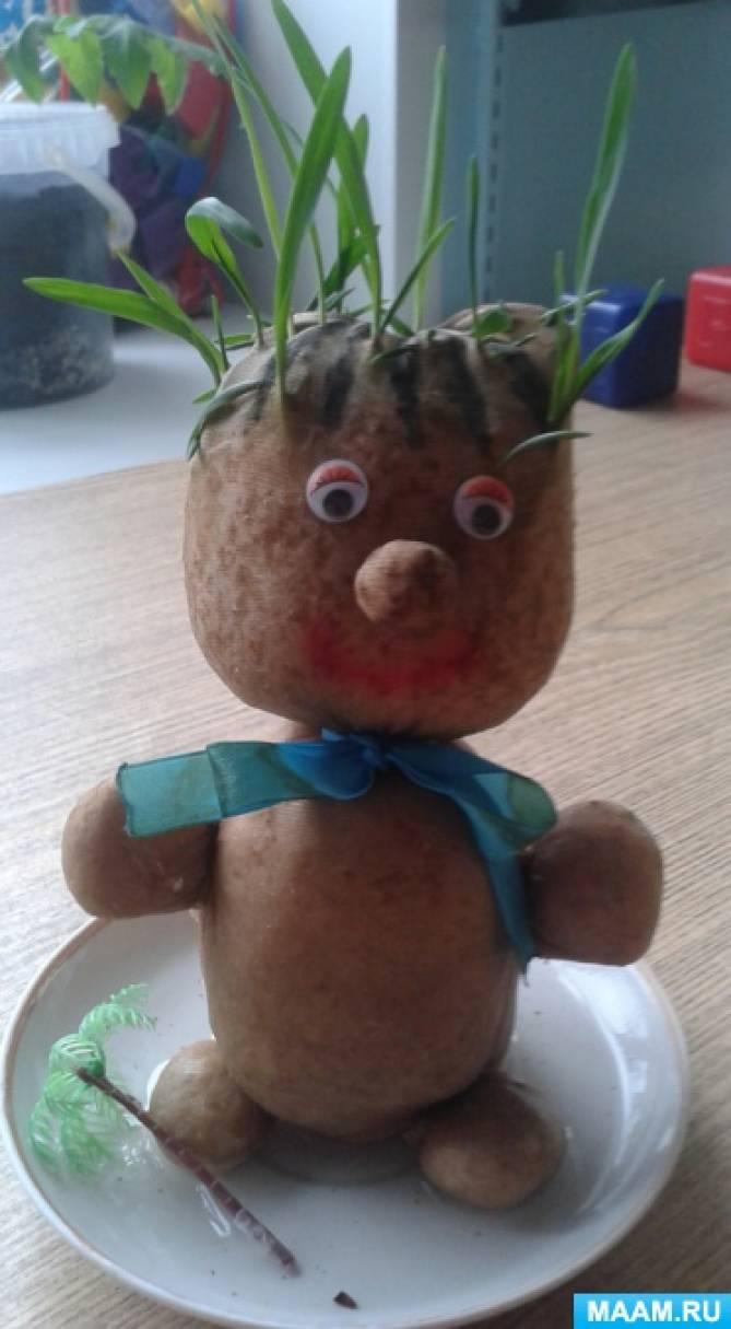 Экологическая игрушка своими руками