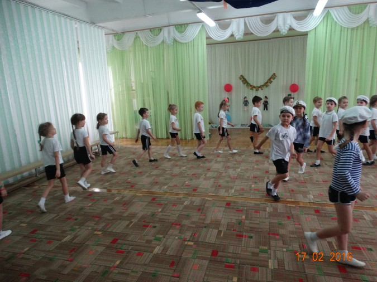 Спортивное развлечение, посвящённое празднику «День защитника Отечества» — «Весёлые учения»