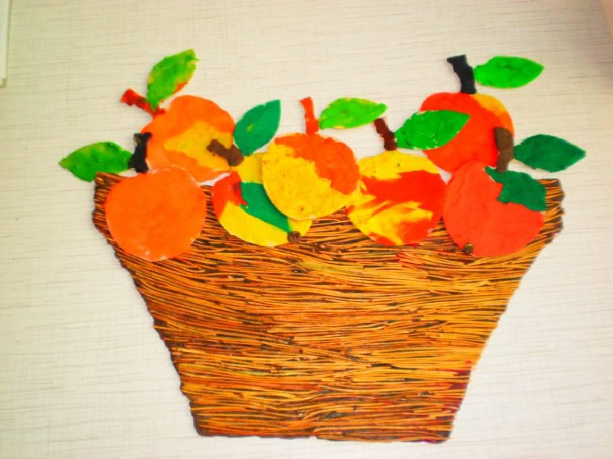 Вот какие яблоки у нас в саду! Детские поделки на тему «Яблоня»