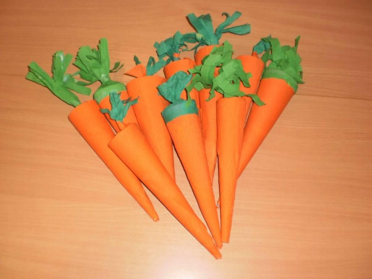 Мастер-класс: атрибут «Морковь» для танца «Зайцы с морковкой»