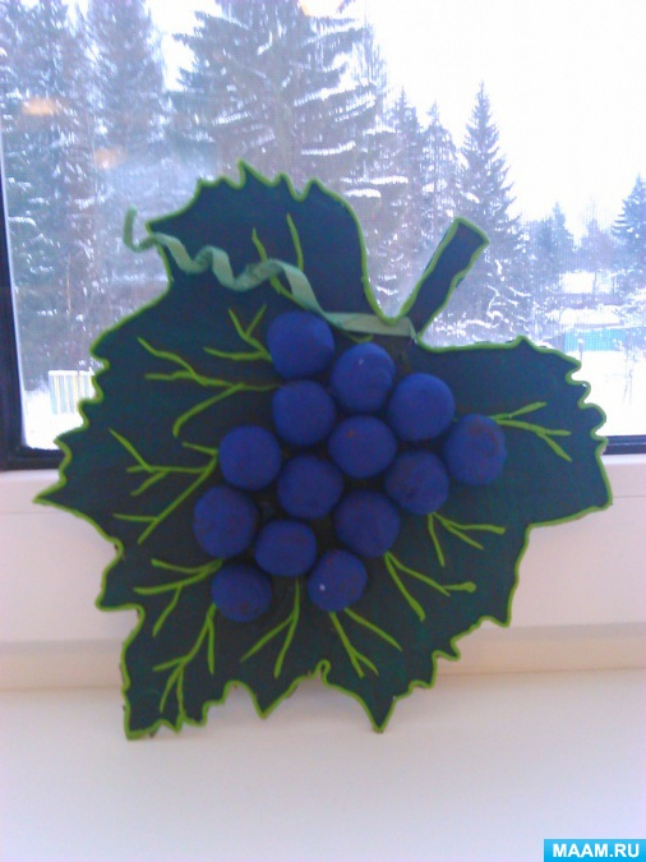 Поделки из винограда для детского сада фото 47