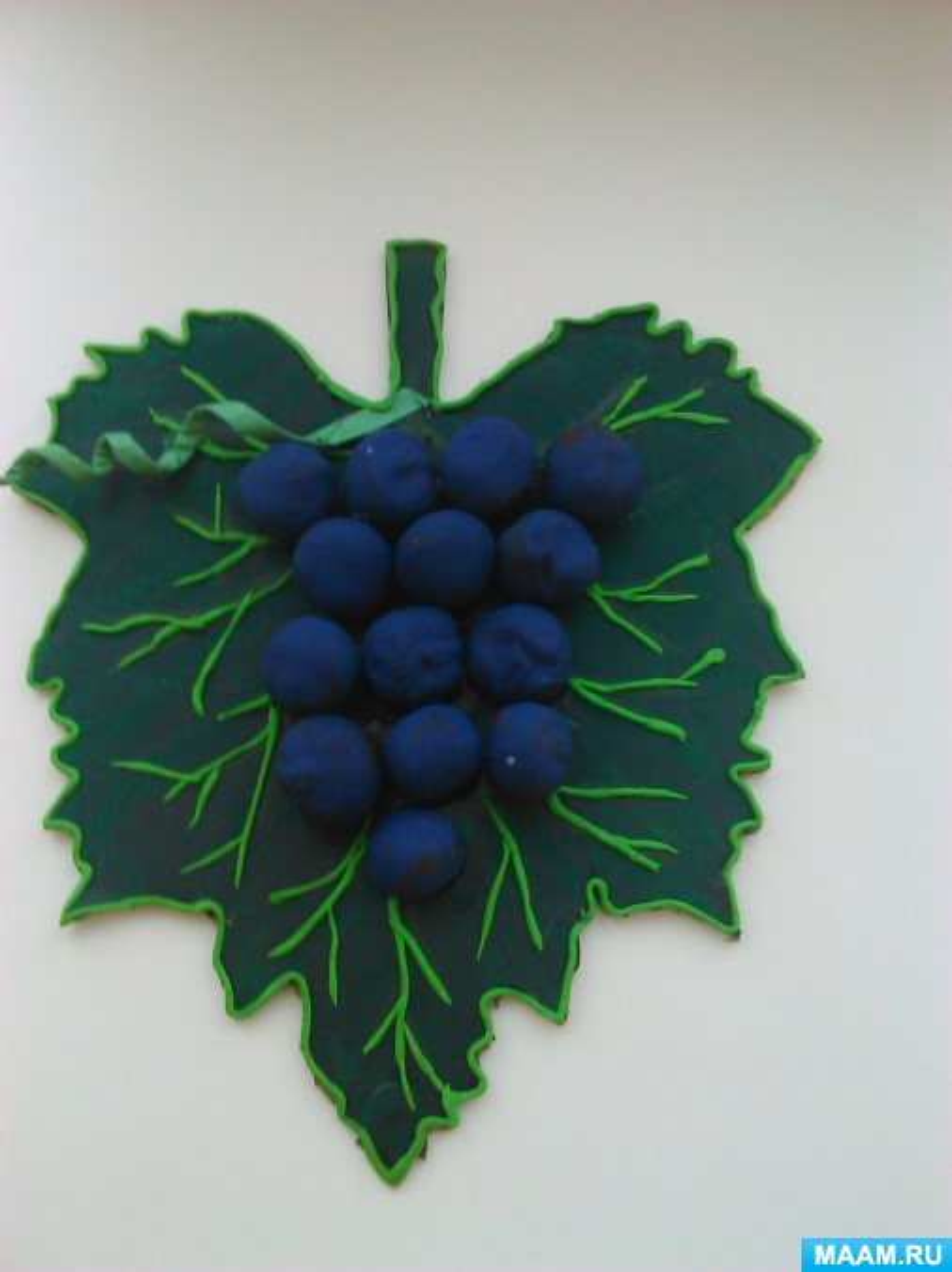 Поделки из винограда для детского сада фото 89