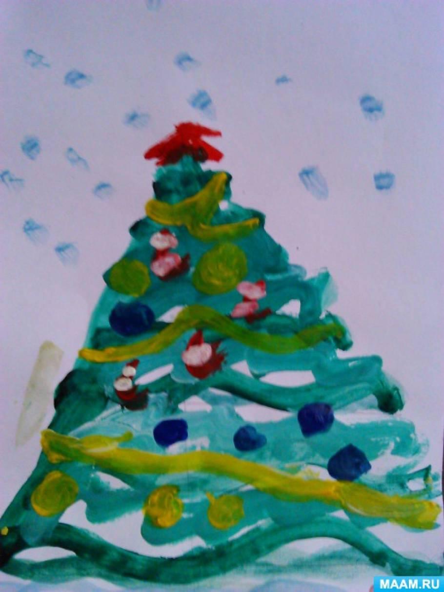 Сделать новогодние украшения в детский сад своими руками