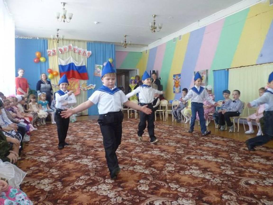 Танец «Салажата» к 23 февраля