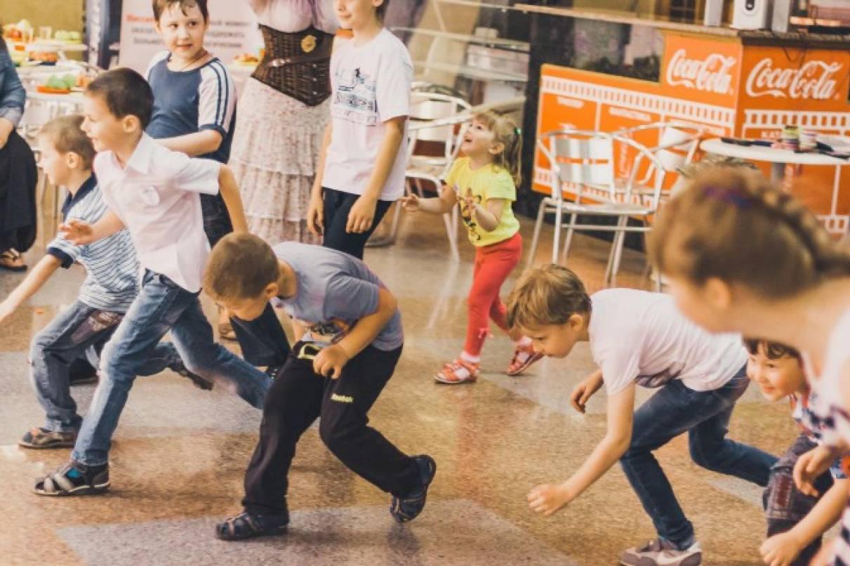 Фотоотчет о празднике ко Дню защиты детей от благотворительного фонда