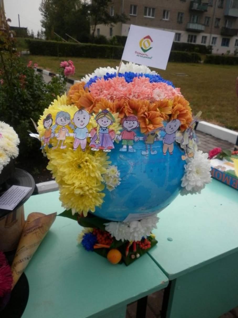 Фотоотчет с выставки цветов