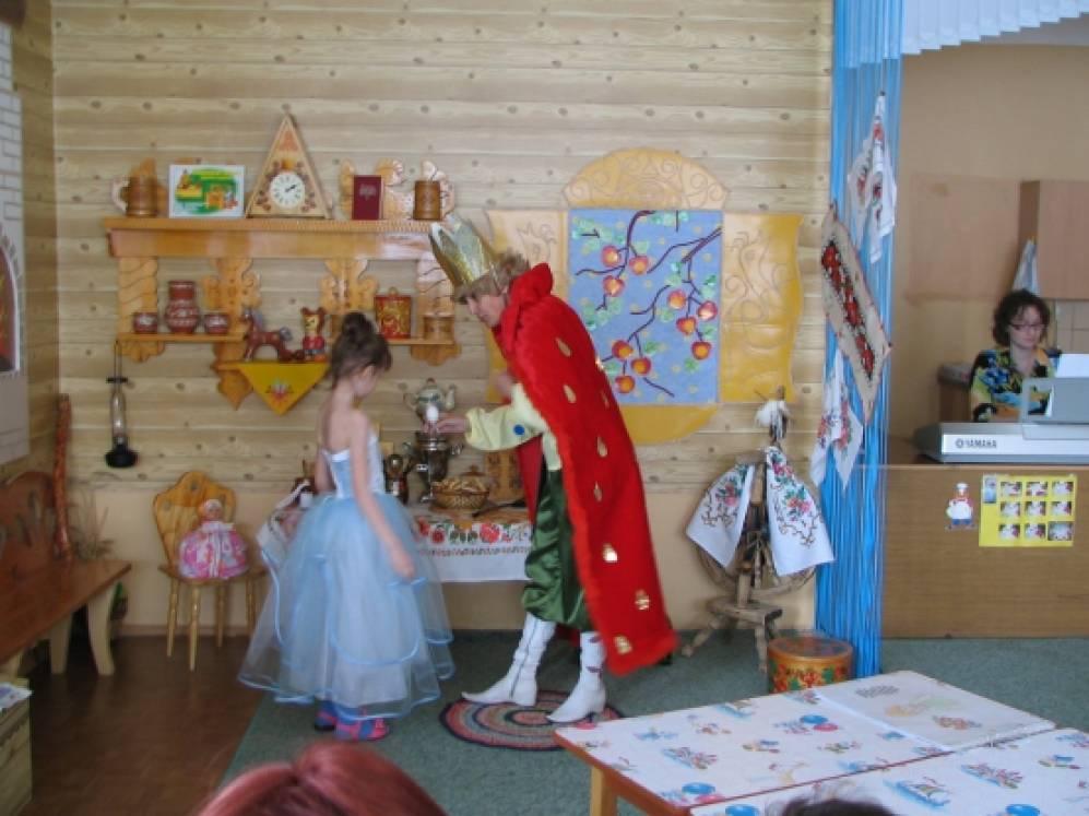 Сценарий спектакля «Принцесса и «Волшебная книга» по проекту «Здоровая пища»