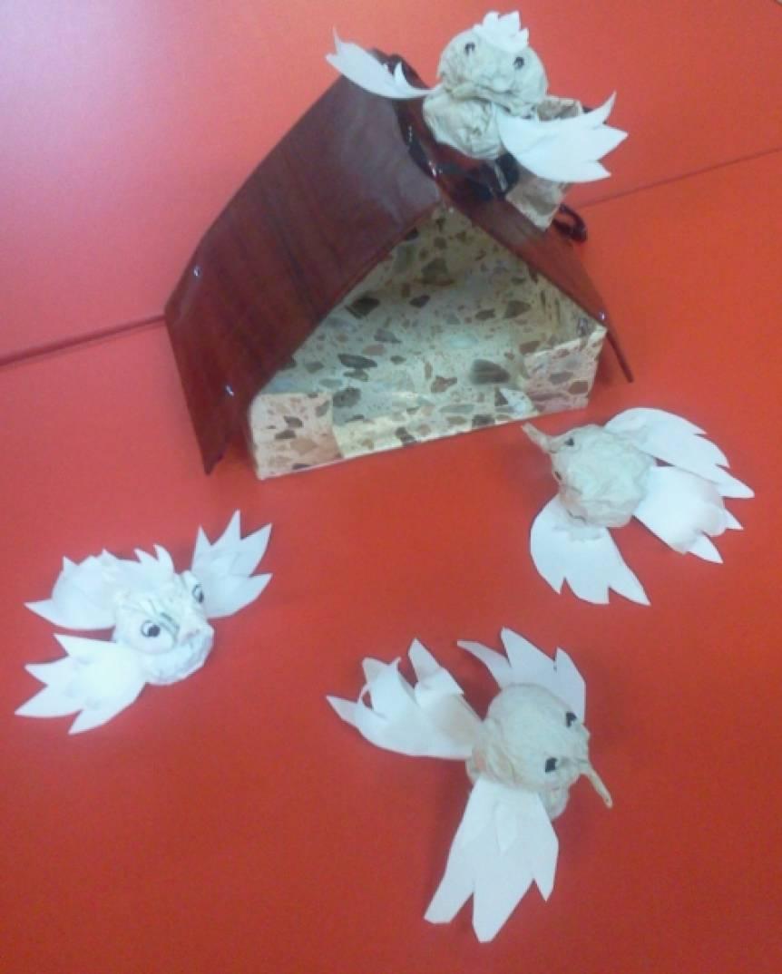 Птички из бумаги своими руками мастер класс