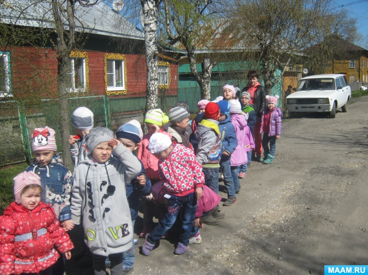 Обзорная пешеходная экскурсия c детьми подготовительной к школе группы с ОВЗ «По улицам памяти»