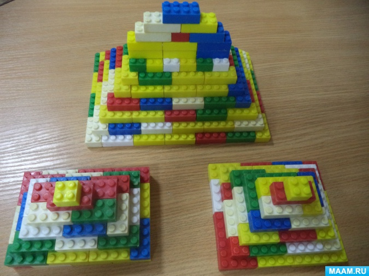 НОД «LEGO-конструирование по замыслу» (подготовительная группа)