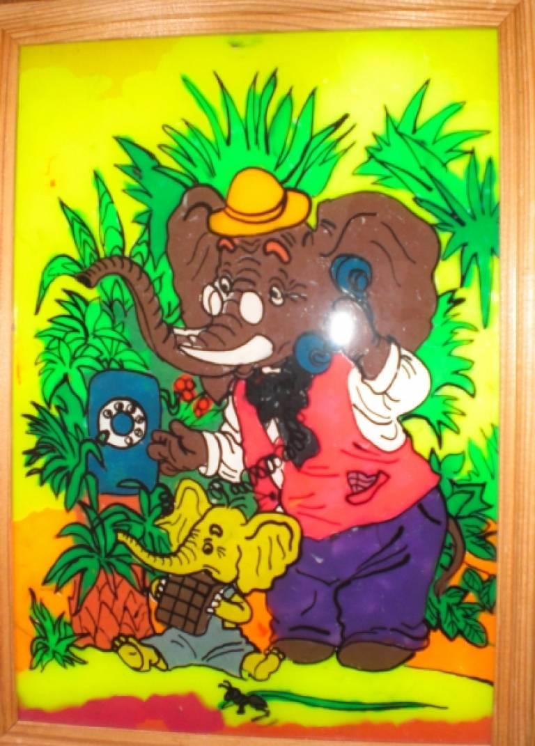 пластилиновая живопись в детском саду: