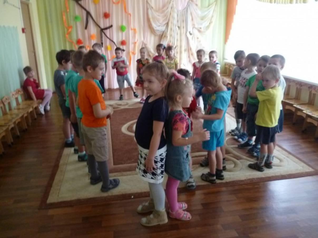 Праздник русских народных игр в детском саду