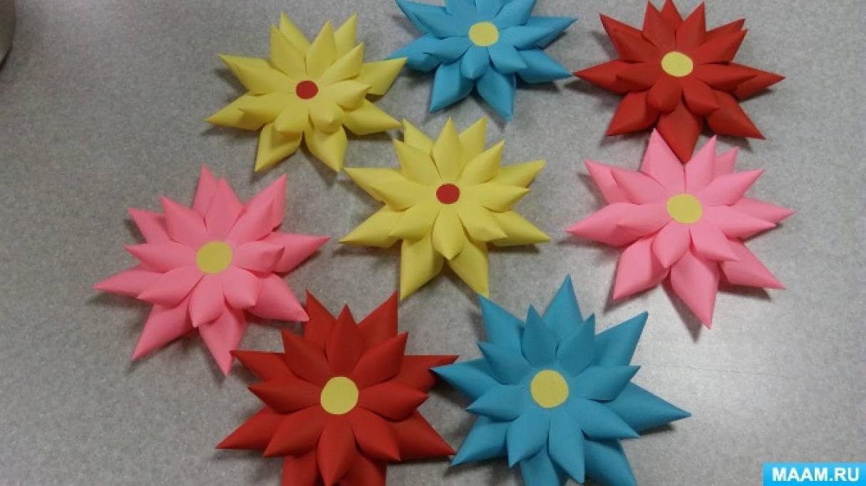 Мастер-класс «Весенние цветы».