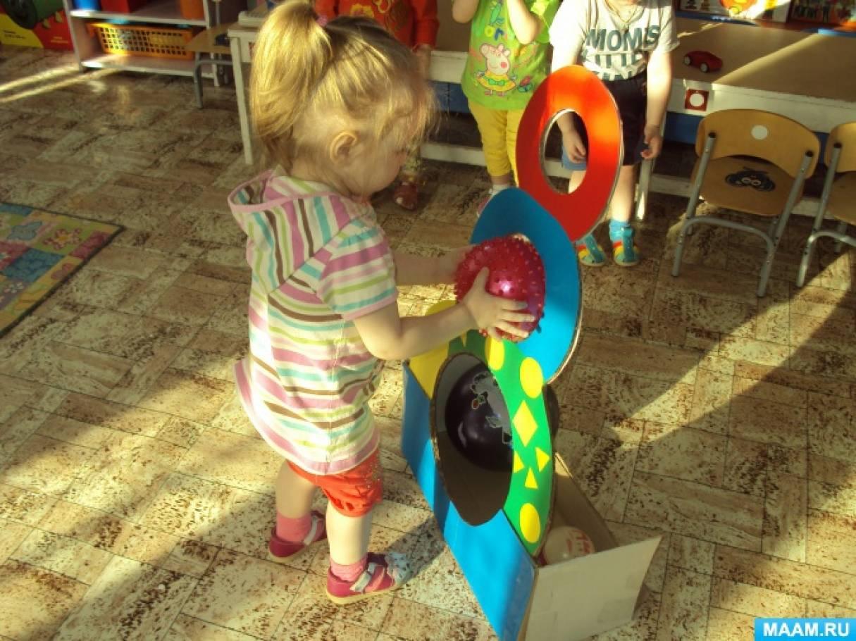 Нестандартное физкультурное оборудование в группе раннего возраста
