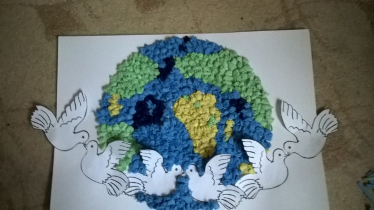 Рисунок или поделка мир во всем мире 709