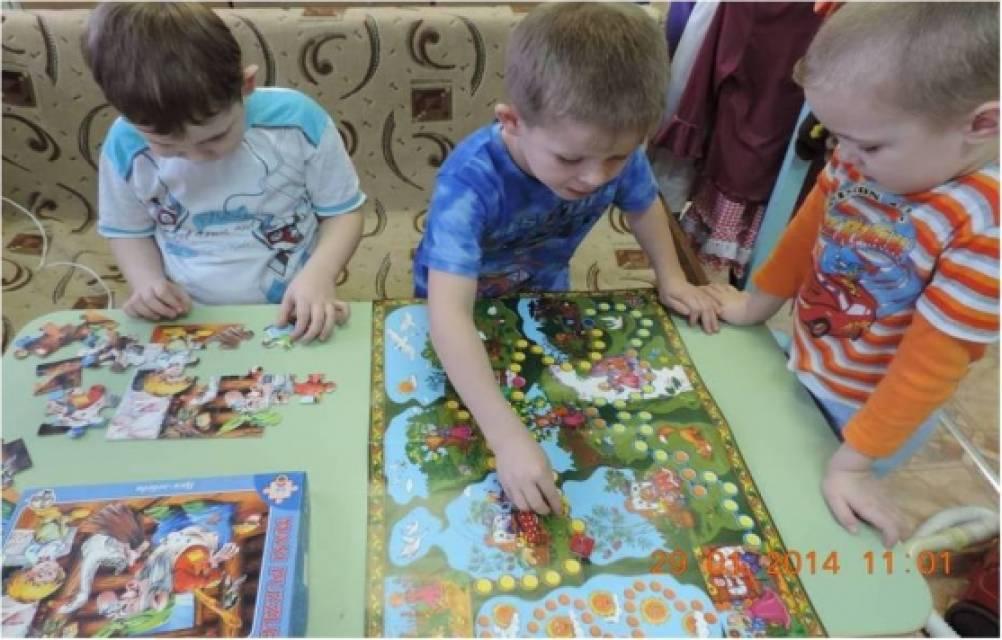 игры для знакомства детей в группе детского сада