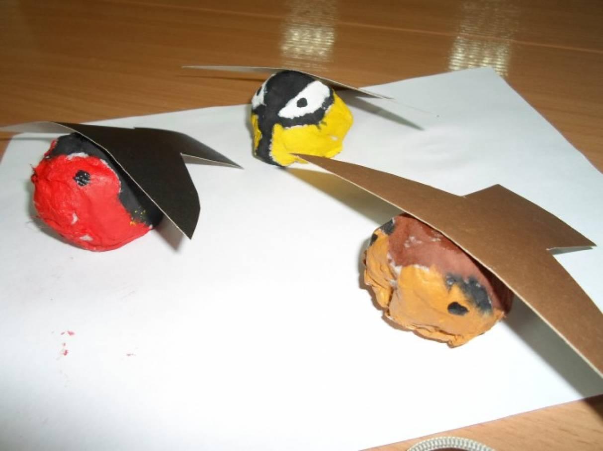 Мастер-класс: поделка из ваты «Птички-невелички»