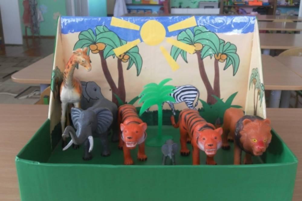 Поделки животных в детский сад 80