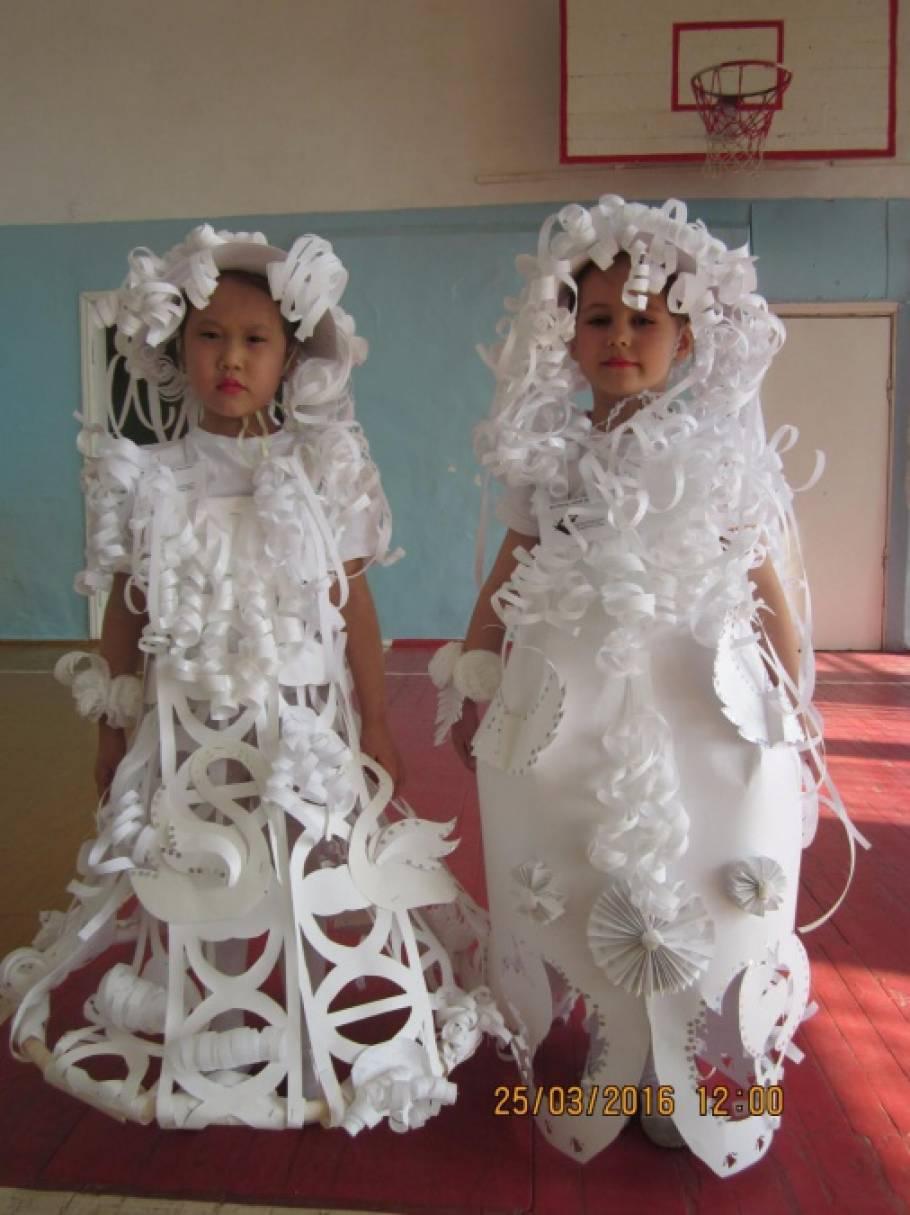 Из бумаги своими руками костюмы 10