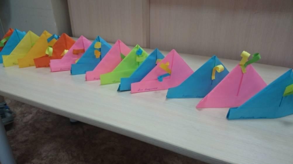 оригами головные уборы для детей