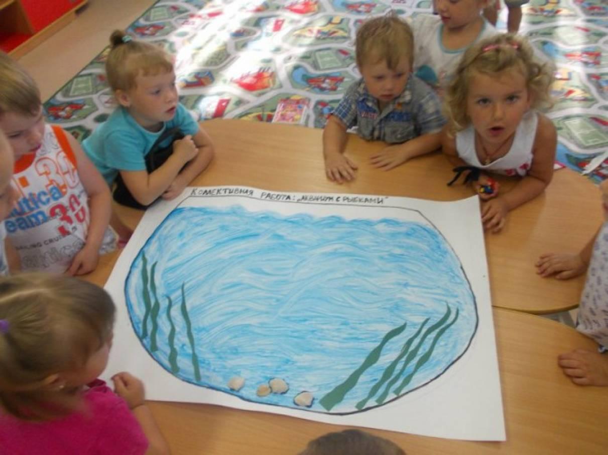 знакомство детей с геометрическими фигурами в старшей группе