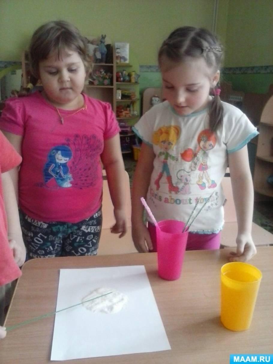 Экспериментирование «Выращиваем кристаллы сахара»