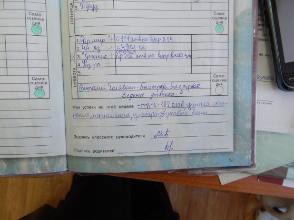 Дневник программа