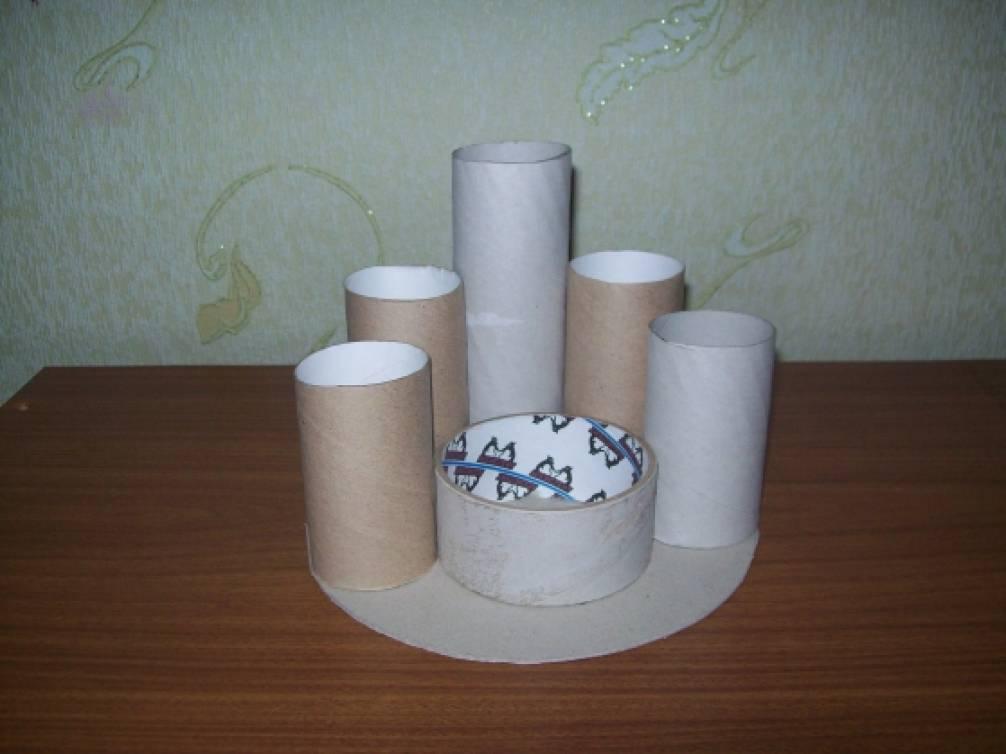 Органайзер из втулок от туалетной бумаги своими руками