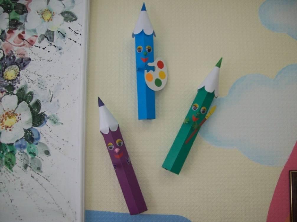 Как сделать из цветного карандаша