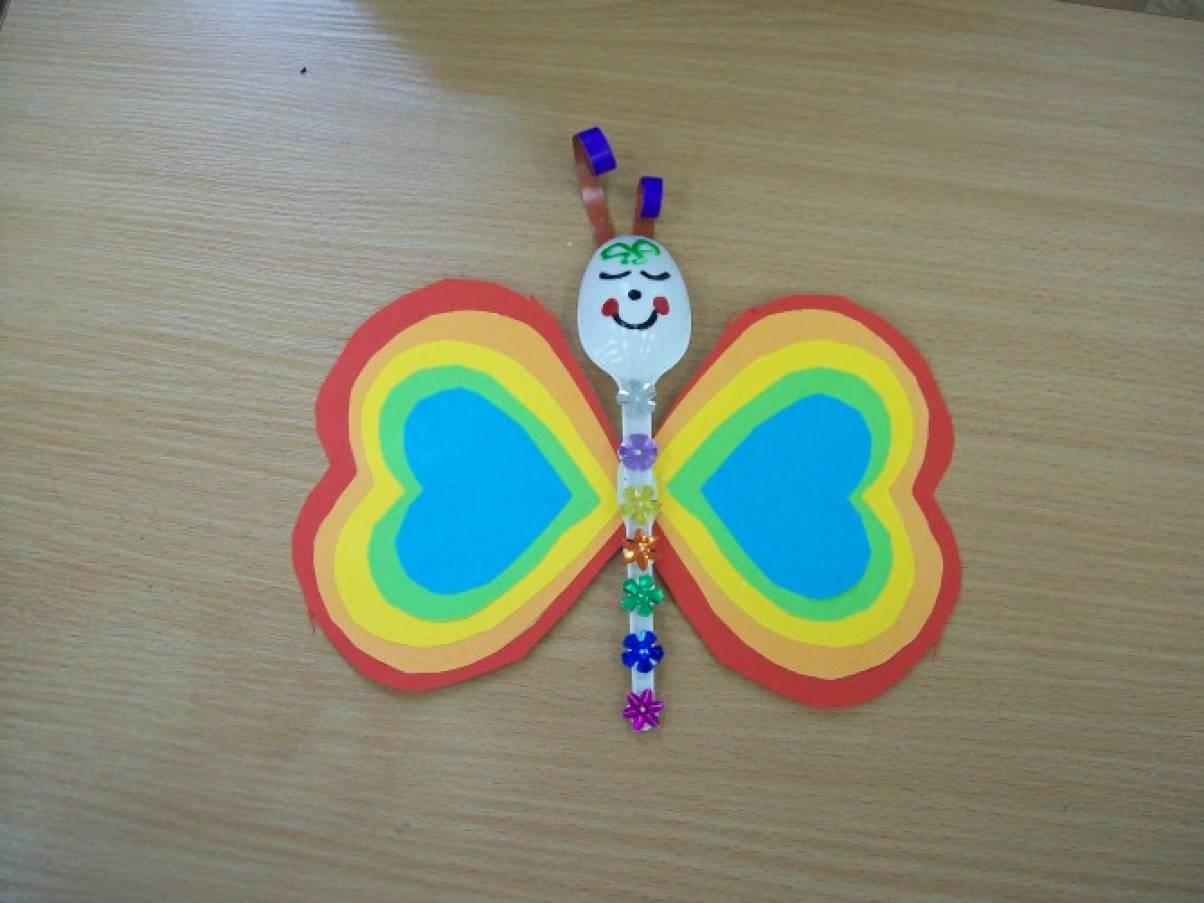 Как из диска сделать бабочку 889