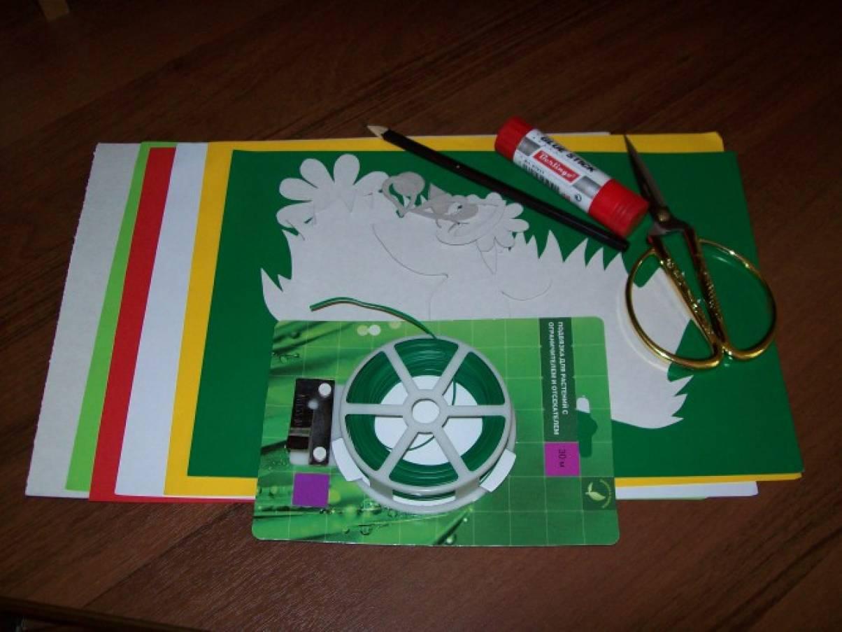 detsad-28232-1440309907 Аппликация бабочка из бумаги для детей, из ткани и фетра