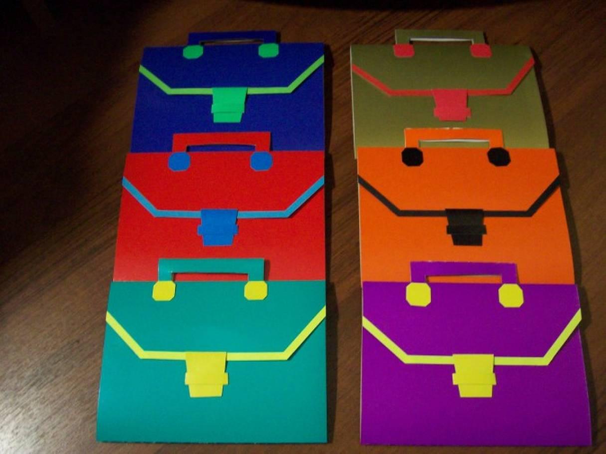 Очки из бумаги. Оригами схема.