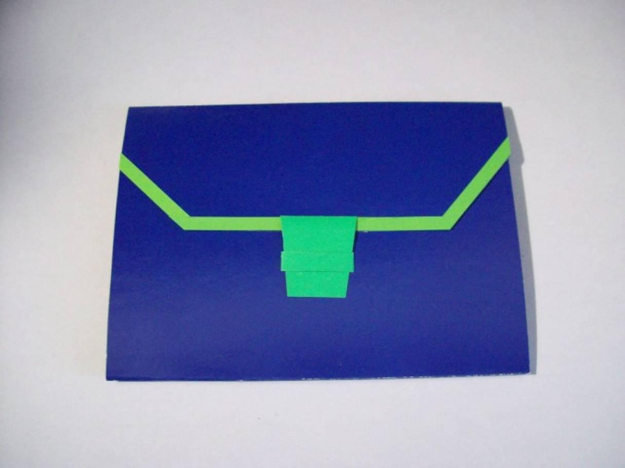 Открытка портфель из бумаги своими руками 26