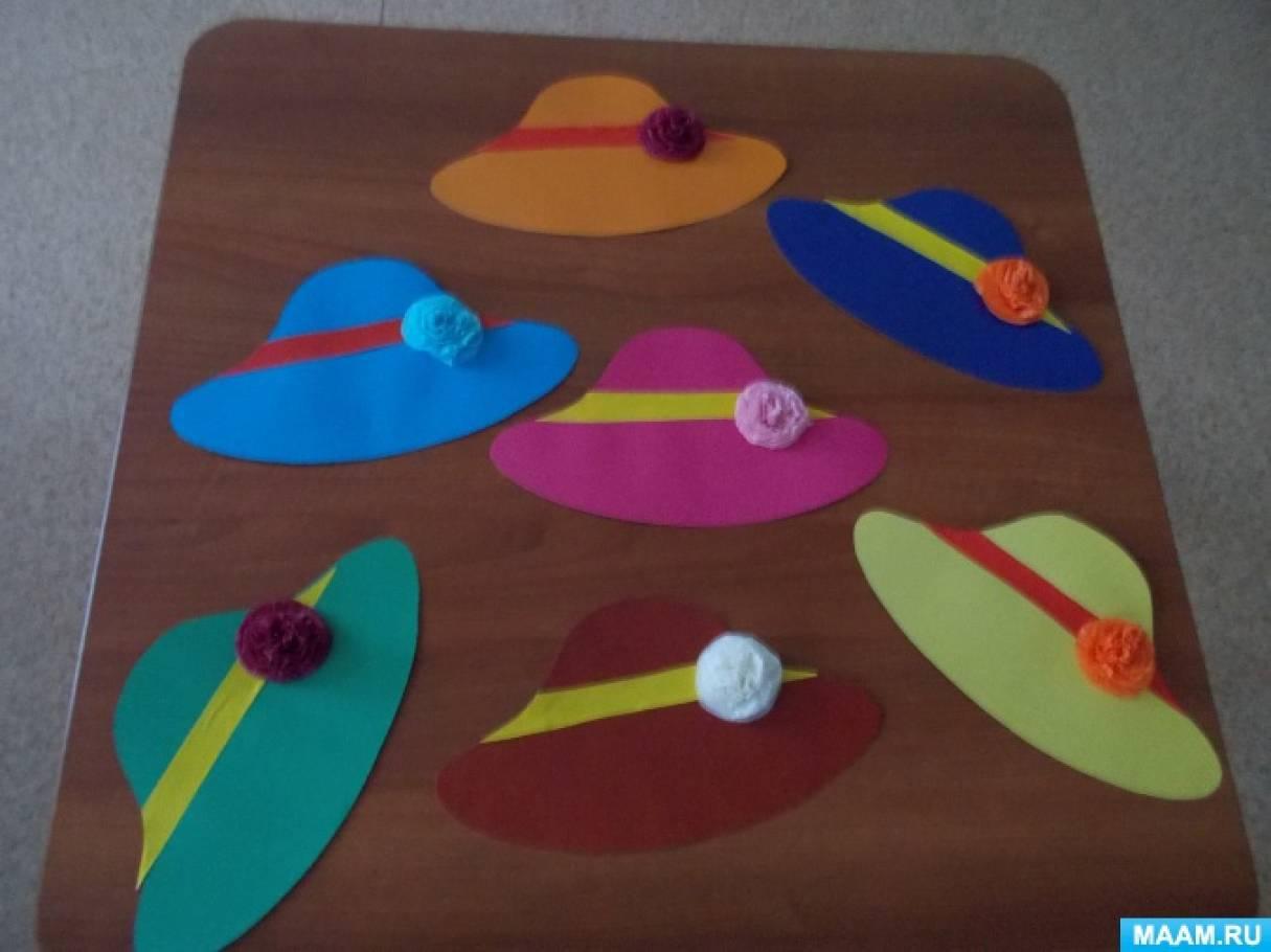 Шляпки для детей своим руками