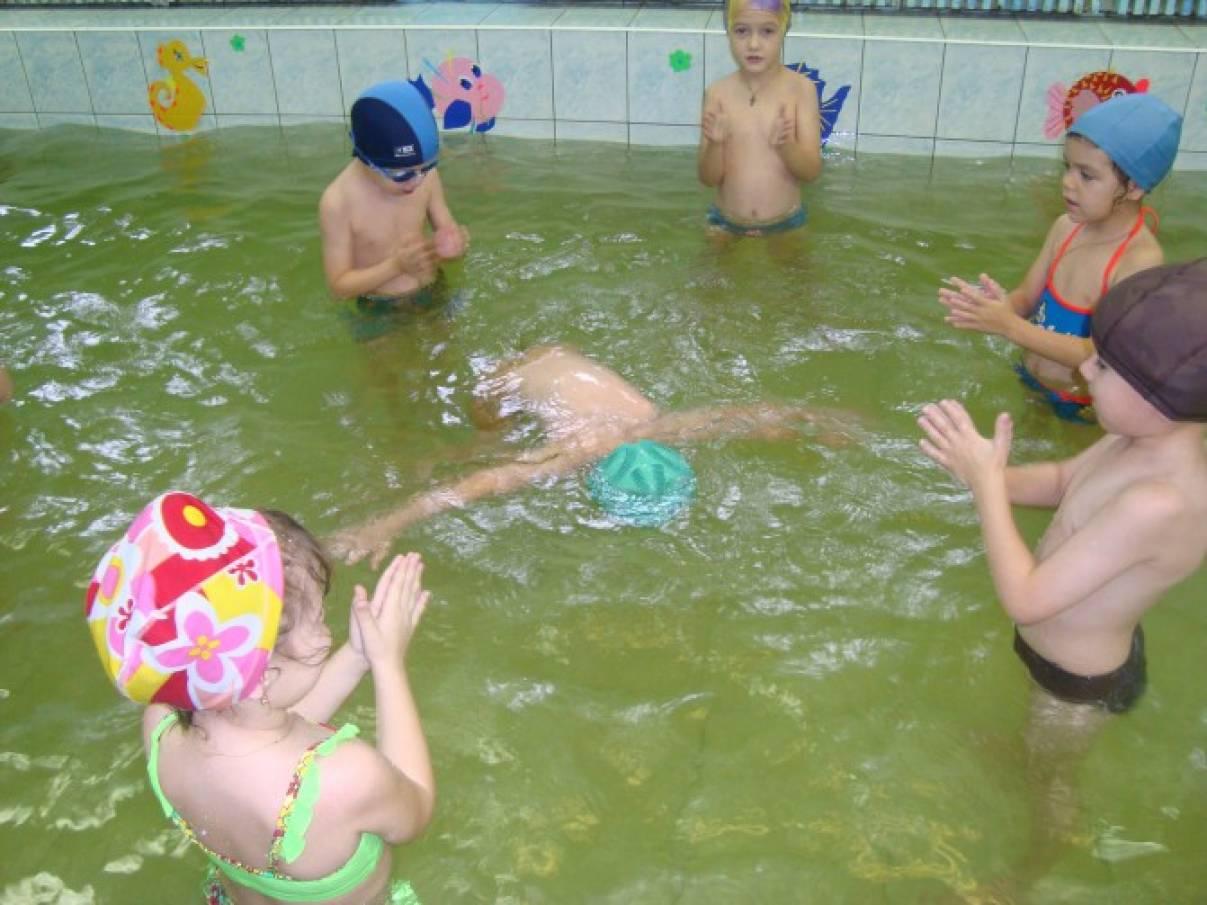 Реферат обучение детей плаванию 1243